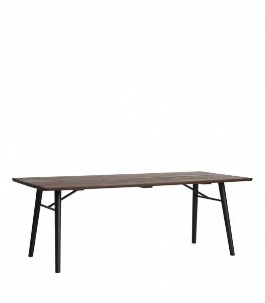 Bilde av Woud Alley 205 dining table smoked oak/black