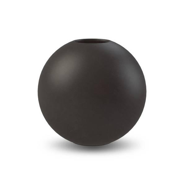 Bilde av Cooee ball vase 20cm, sort