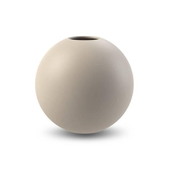 Bilde av Cooee ball vase 20cm, sand