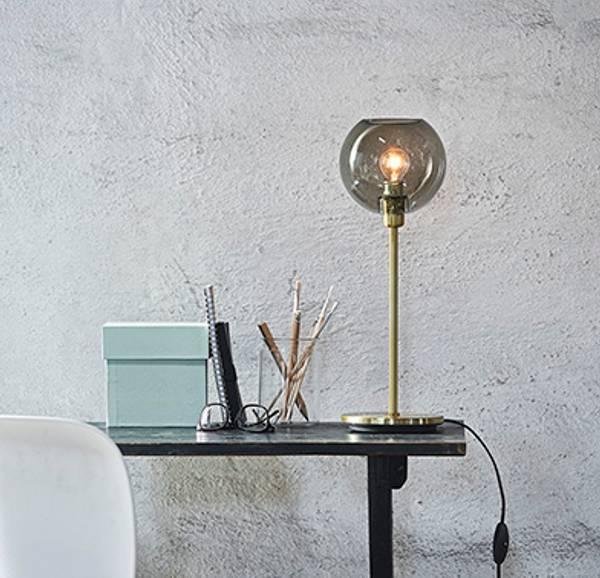 Bilde av Gloria messing bordlampe