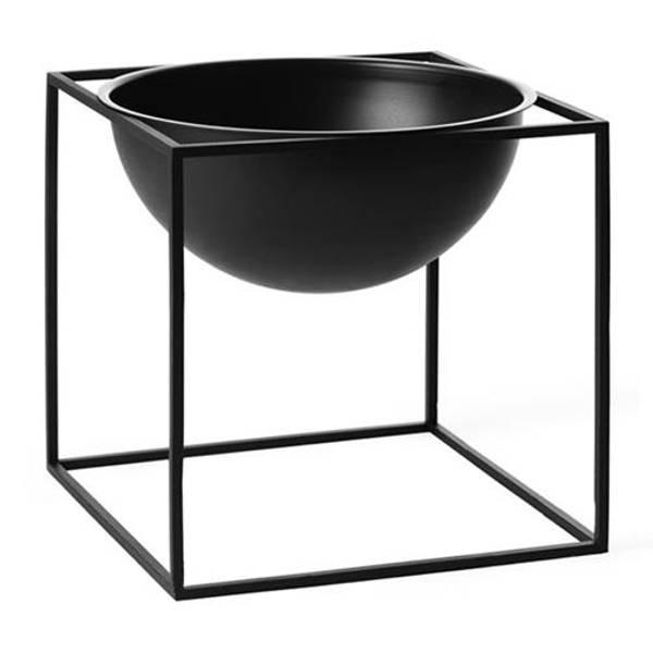 Bilde av By lassen kubus bowl large, sort