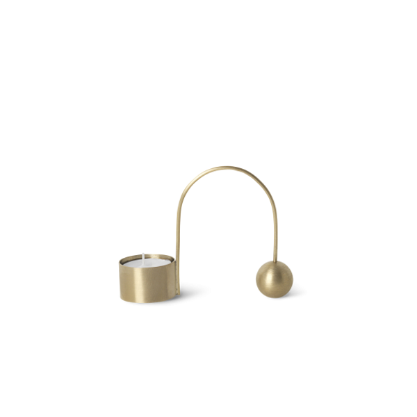 Bilde av Ferm Living Balance Tealightholder- Brass