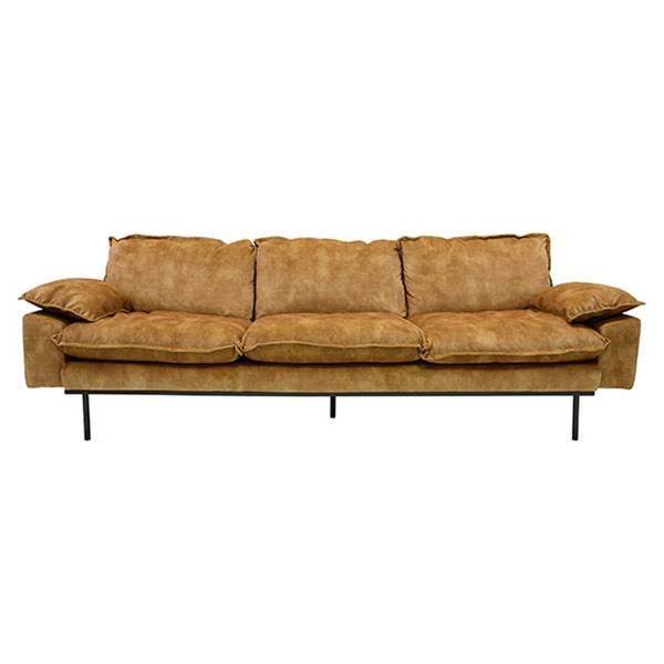 Bilde av HK Living Retro 4 seter-sofa