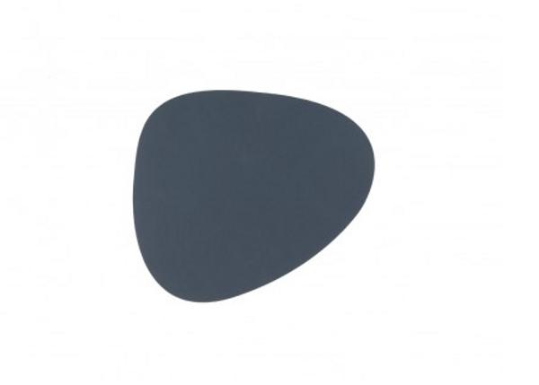 Bilde av glass mat curve 11x13cm nupo dark blue