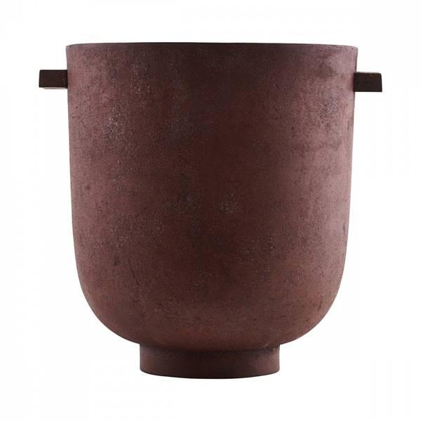 Bilde av House Doctor Jar foem, burned red (potte)