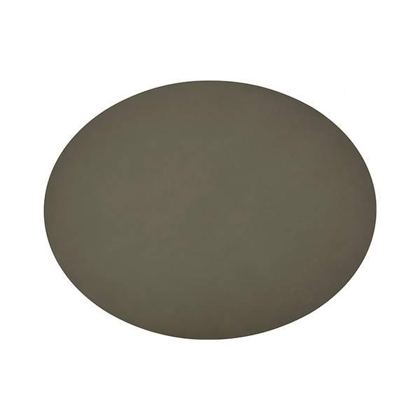 Bilde av Bordbrikke 35x46 oval L nupo, army green