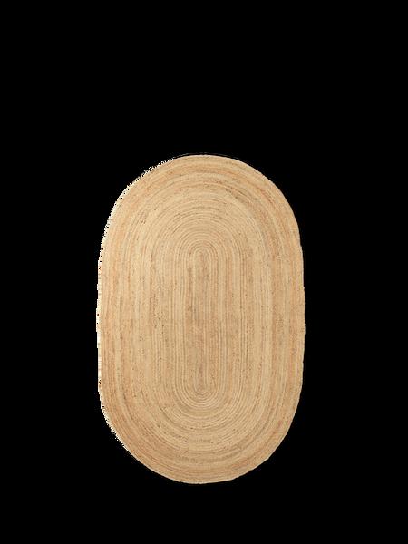 Bilde av Eternal Jute Rug Oval Small- Natural 140x240cm