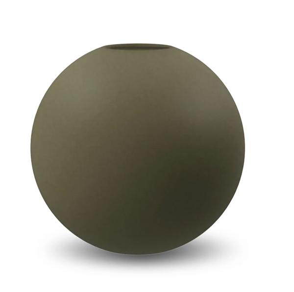 Bilde av Cooee Ball vase 10cm, Olive