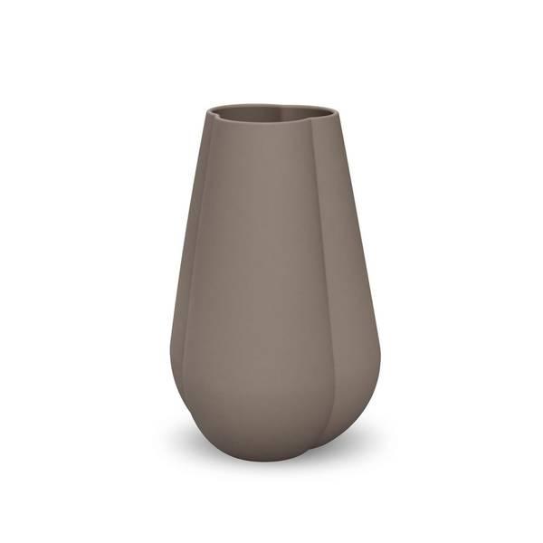 Bilde av Cooee clover vase 25cm, mud