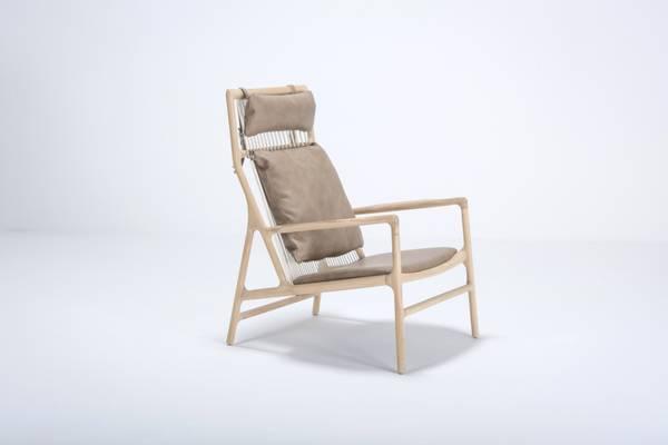 Bilde av Gazzda Dedo lounge chair, dakar skinn