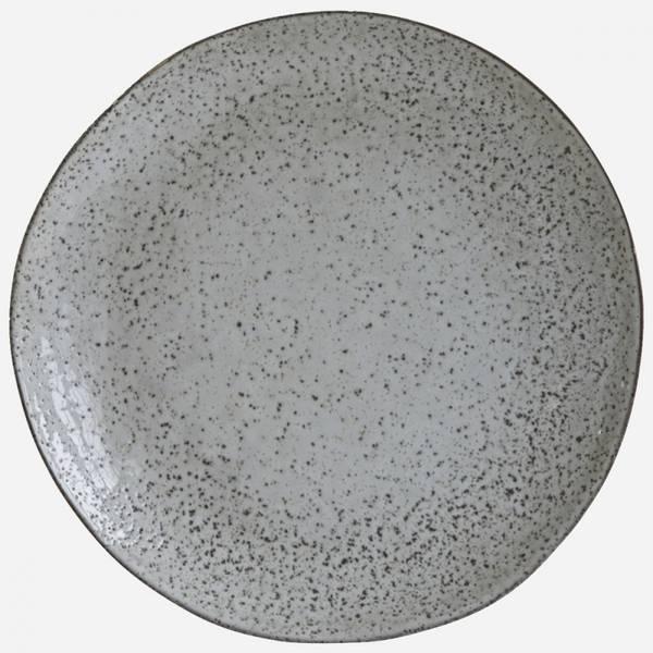 Bilde av House Doctor Rustikk grå/blå tallerken - 27,5cm