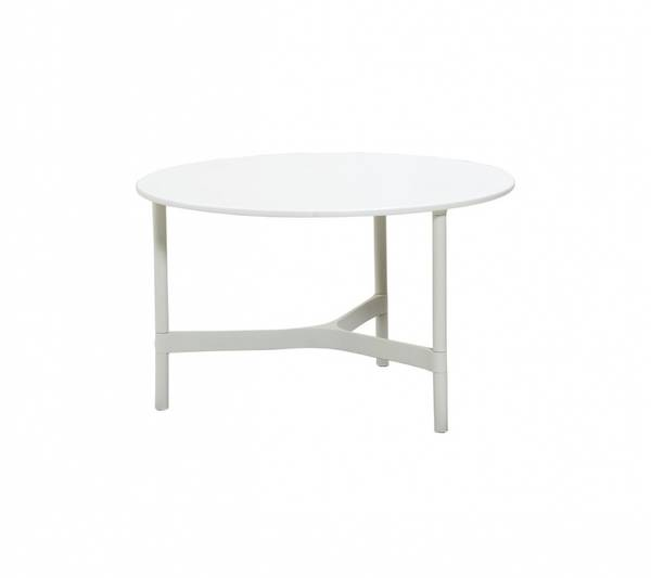 Bilde av Cane-line Twist sofabord, medium white